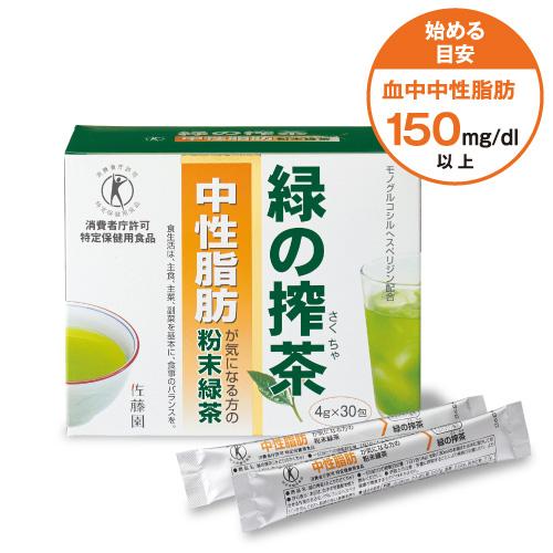 緑の搾茶(中性脂肪のお茶)