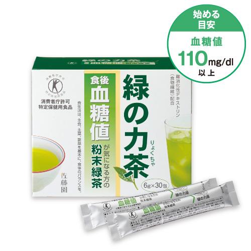緑の力茶(血糖値のお茶)